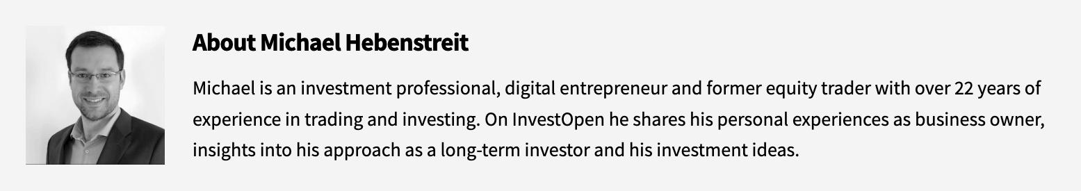 About Michael Hebenstreit